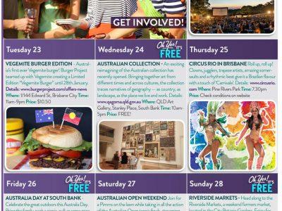 January events calendar