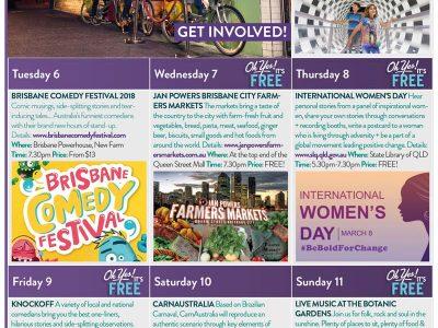 SRI Weekly Calendar