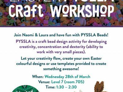 PySSLA Craft poster