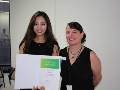 English Intern Graduates from Hanyang University - SRI English