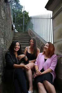 three friends