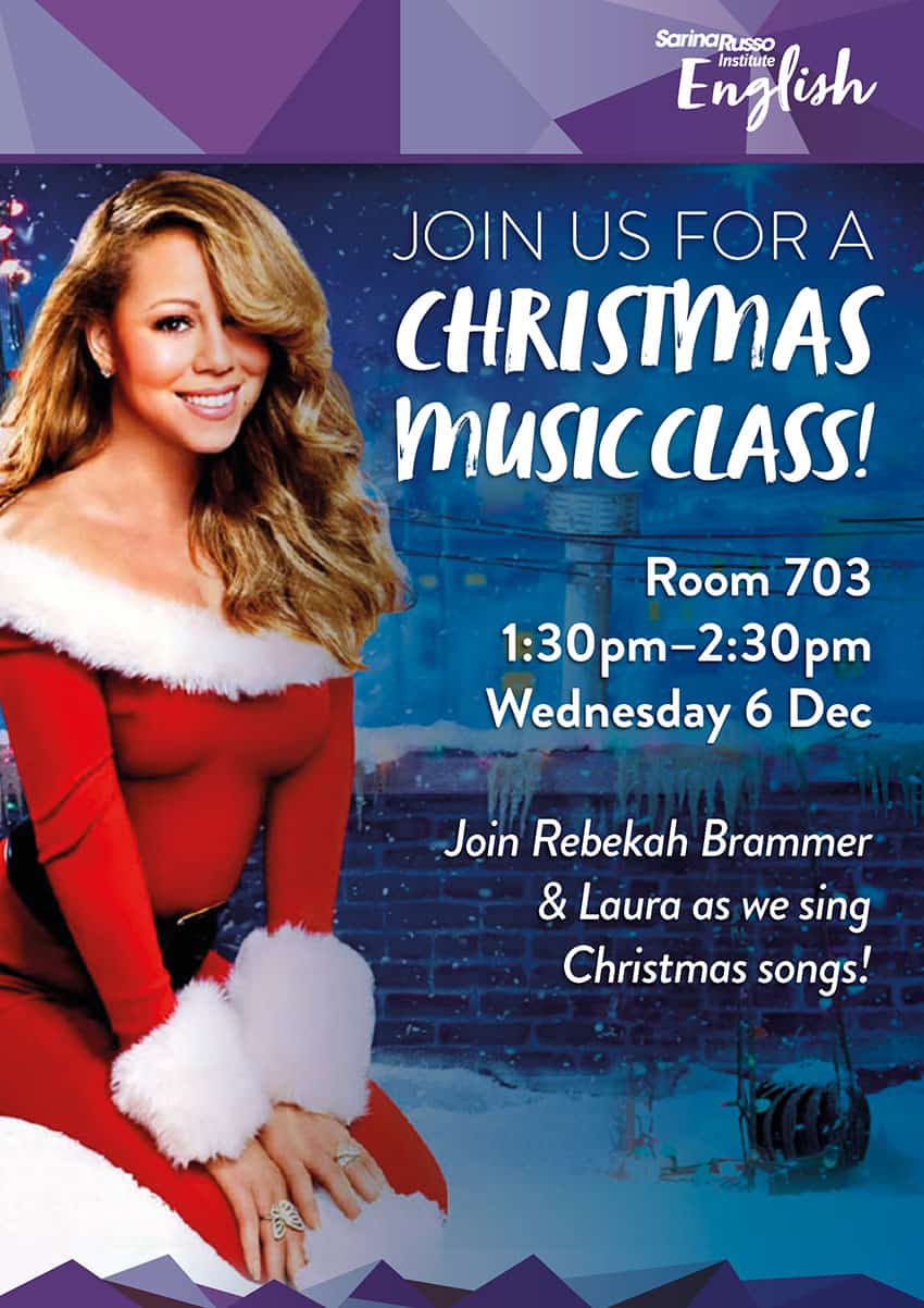 Christmas Music Class