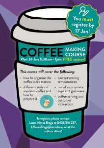 Coffee making course
