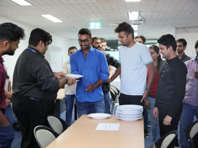 Students at Food and Beverage Course